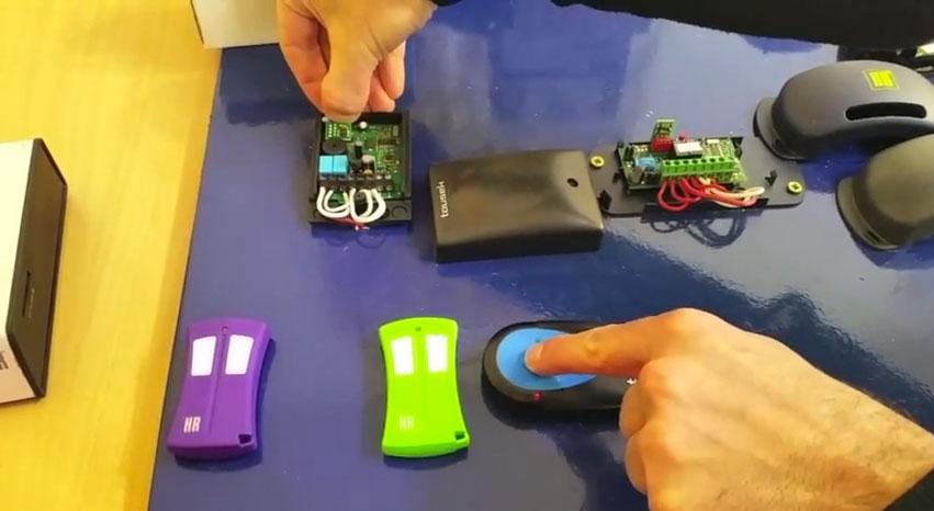 Cómo clonar un mando Tousek TXR433