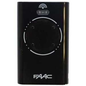 Remote controller FAAC - XT4 433 SLH BLACK